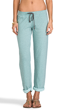 Nation LTD Quilted Stripe Glendora Pant in Seawater