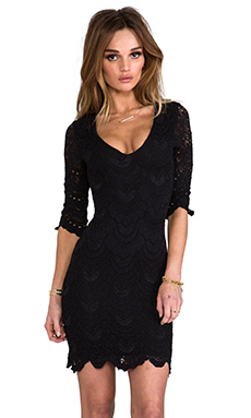 Nightcap x REVOLVE Elena Dress in Black