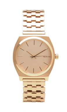Nixon The Time Teller in All Rose Gold