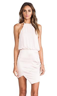Nookie Royals Halter Dress in Nude