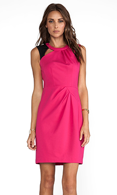 Nanette Lepore Asteroid Ponte Dress in Astol Pink