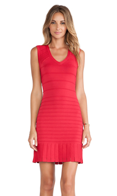 Nanette Lepore Dictionary Dress in Scarlet