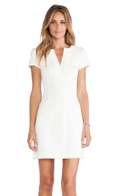 Nanette Lepore Lecture Hall Dress in Ivory