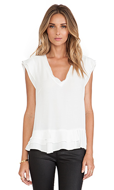 Nanette Lepore Poetry Top in Ivory