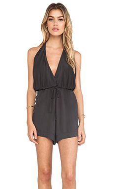 NOVELLA ROYALE Whiskey Romper in Black