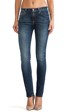 Nudie Jeans Tube Tom in Organic Blue Nights