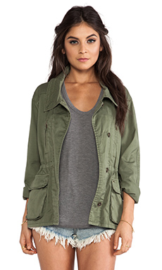 Obey Ballard Jacket in Cypress