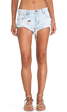 One Teaspoon Bandits Jean Shorts en Brando