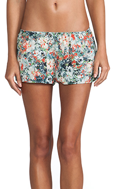 Only Hearts Sleep Shorts in Coral Reef