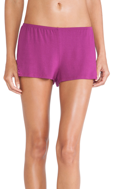 Only Hearts So Fine Sleep Shorts in Wild Rose