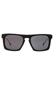 Oliver Peoples WEST San Luis in Black & Flint Polar