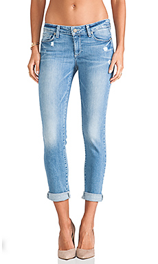 Paige Denim Skyline Ankle Peg in Whitley