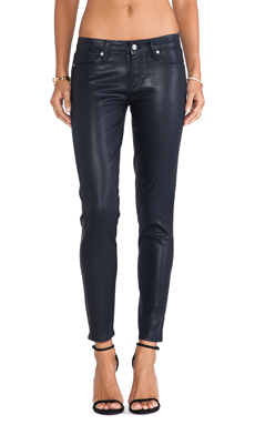 Paige Denim Verdugo Ankle with Faux Pockets in Azure Silk