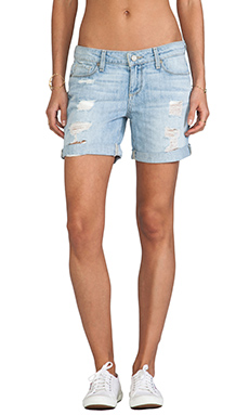 Paige Denim Grant Short in Naomi Destructed