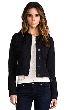 Paige Denim Vermont Jacket in Vintage Black