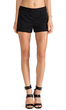 PAM & GELA Ribed Short in Black