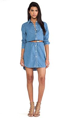 Paper Denim & Cloth Ryan Dress in Denim