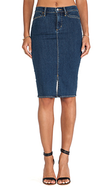 Paper Denim & Cloth Skirt in Cooper Dark