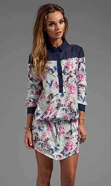 Pencey Shirt Dress in Floral