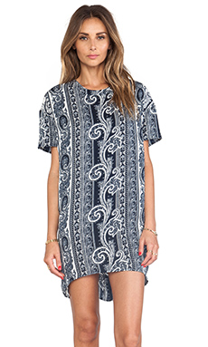 Pencey City T Dress in Bandana Print