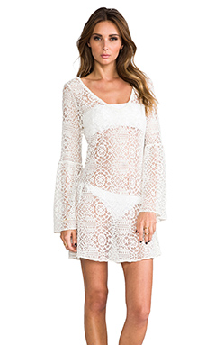 PILYQ Riley Royal Tunic in Bahama White
