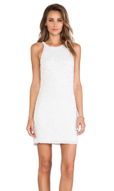 Parker Audrey Dress in White