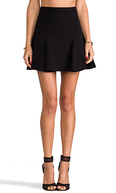 Parker Billie Skirt in Black