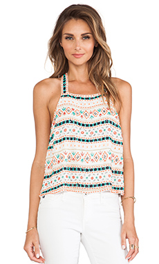 Parker Justina Sequin Tank in Multi