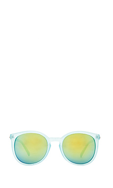 Quay Dixi Sunglasses in Blue