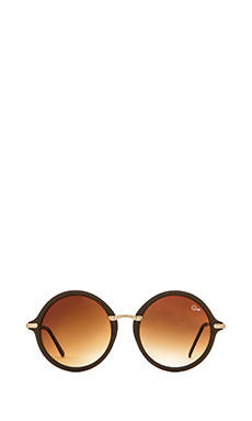 Quay Misty Sunglasses in Brown