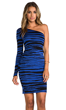 Rachel Pally Fernando Dress in Cobalt Painted Stripe