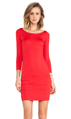 Rachel Pally Jersey 3/4 Sleeve Bianca Dress in Mars