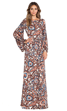 Rachel Pally Clairis Dress in Lotus Paisley