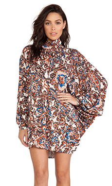 Rachel Pally Cass Dress in Lotus Paisley