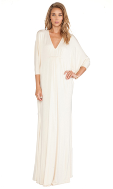 Rachel Pally Florence Caftan in Cream