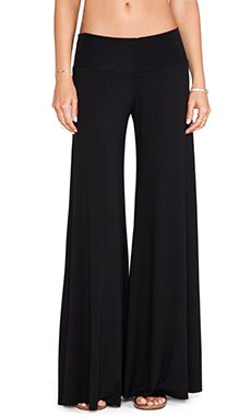 Rachel Pally Wide Leg Trouser in Black