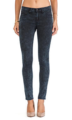 rag & bone/JEAN The Legging in Rosebowl Navy