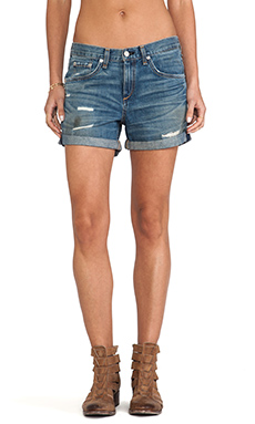 rag & bone/JEAN Boyfriend Short in Trestles