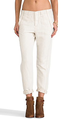 rag & bone/JEAN Separating Portobello Pant in Natural