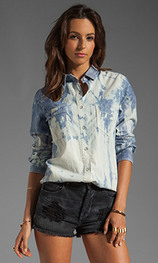 rag & bone/JEAN Trail Shirt in Tie Die