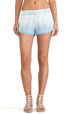 Rails Dani Denim Track Short in Ombre Denim