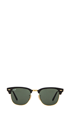 Ray-Ban Clubmaster Folding in Black