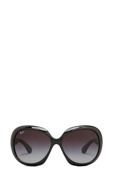 Ray-Ban Jackie Ohh II in Glossy Black/Grey Fade
