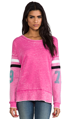 Rebel Yell 79 Torn Warm Up Tunic in Bubblegum
