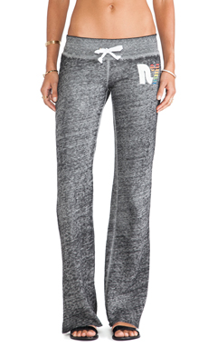 Rebel Yell Rainbow RY Boyfriend Pants in Heather Gray