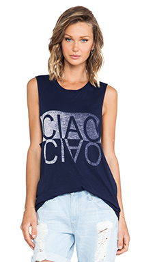 CIAO BELLA CUT OFF TEE