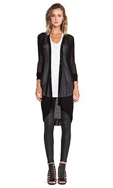 Riller & Fount Odette Cardigan in Black
