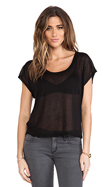 Riller & Fount Marko Tee in Sheer Black