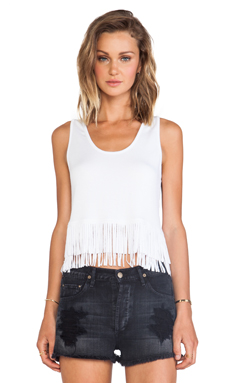 Riller & Fount Eugenie Tank in White