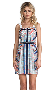Rebecca Minkoff Clarissa Dress in True Navy Multi